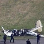 Al menos dos muertos en choque de aviones en EE.UU.