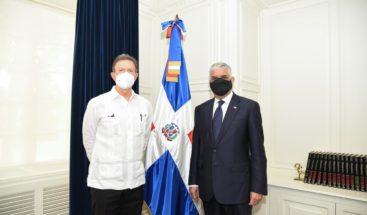 Canciller recibe a recién nombrado ministro de Relaciones Exteriores