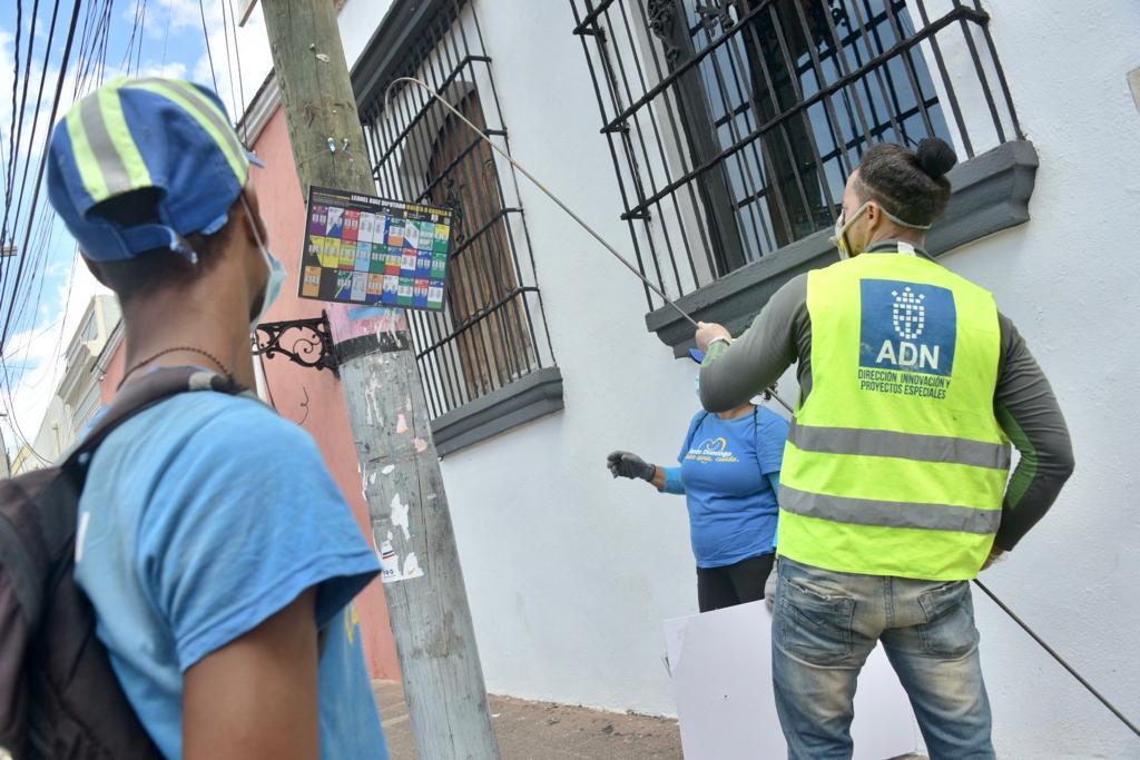 Alcaldía DN retira propaganda política colocada durante campaña