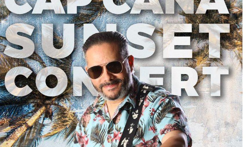 Pavel Núñez cantará este viernes en el Cap Cana Sunset Concert por YouTuve Live