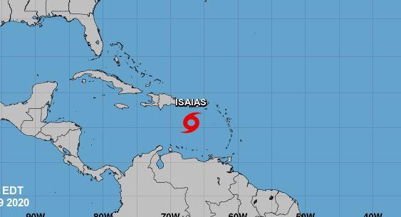 Se forma la tormenta tropical Isaías; trayectoria indica impactará RD
