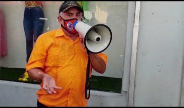 Con megáfono, Defensa Civil pide lavarse bien las manos y respetar distanciamiento