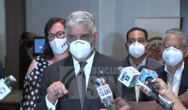 Miguel Vargas llama a partidos a respetar y aceptar resultados de elecciones