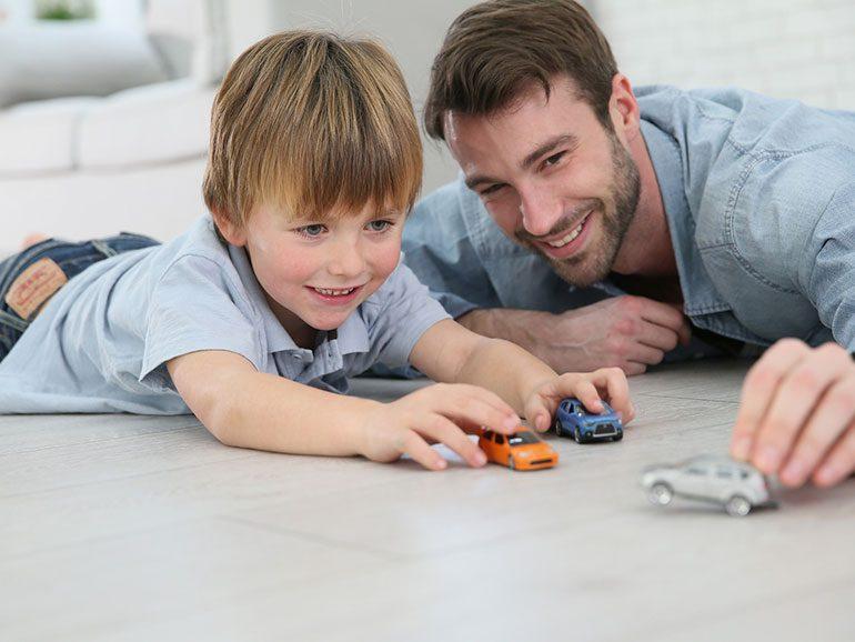Importancia de la figura paterna en el crecimiento de los más pequeños
