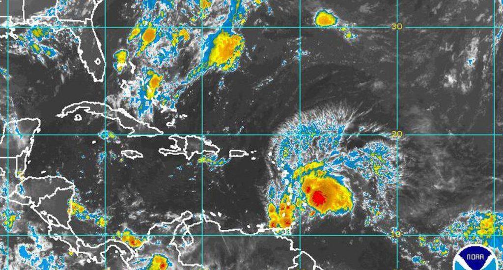 Islas Barlovento, en máxima alerta por si Gonzalo se fortalece como huracán