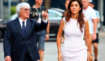 Bernie Ecclestone, ex patrón de la Fórmula 1, es padre a los 89 años