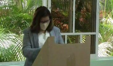 Margarita Cedeño busca repetir como vicepresidenta