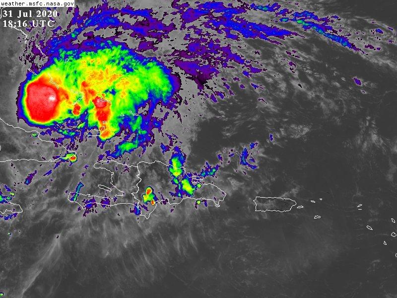 Continuarán las lluvias por remanentes del huracán Isaías, según Onamet