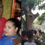 Agente PN asesina de varios disparos a expareja y luego se suicida en Villa Gonzalez en Santiago