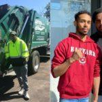 Joven recolector de basura se hace viral tras ser aceptado en Harvard