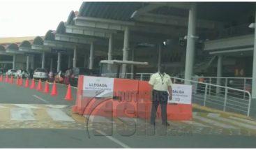 Aeropuerto del Cibao extrema medidas por violación al distanciamiento
