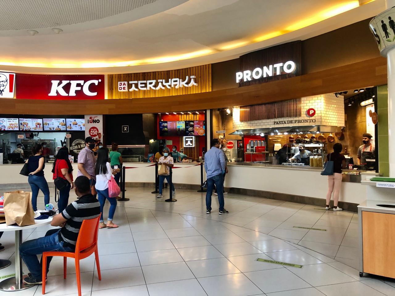 Restaurantes de Ágora Mall reciben sus primeros comensales