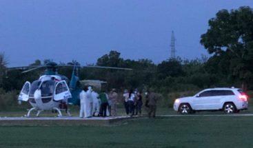 En estado delicado trasladan en helicóptero al diputado Darío Zapata desde Dajabón