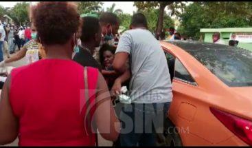 Mujer resulta lesionada en disturbio de votantes en Samaná