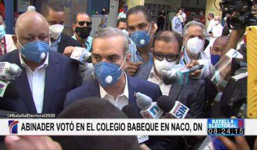 """Luis Abinader: """"Esta noche yo seré Presidente"""""""