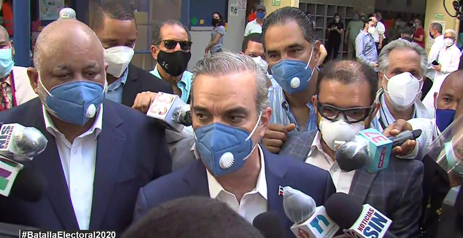 """Abinader: """"Adquisición de insumos médicos del Gobierno se hará con convenio de la OPS"""""""