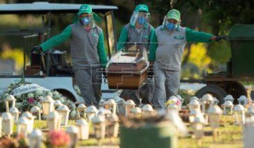 Brasil suma 1,254 muertes por coronavirus en un solo día