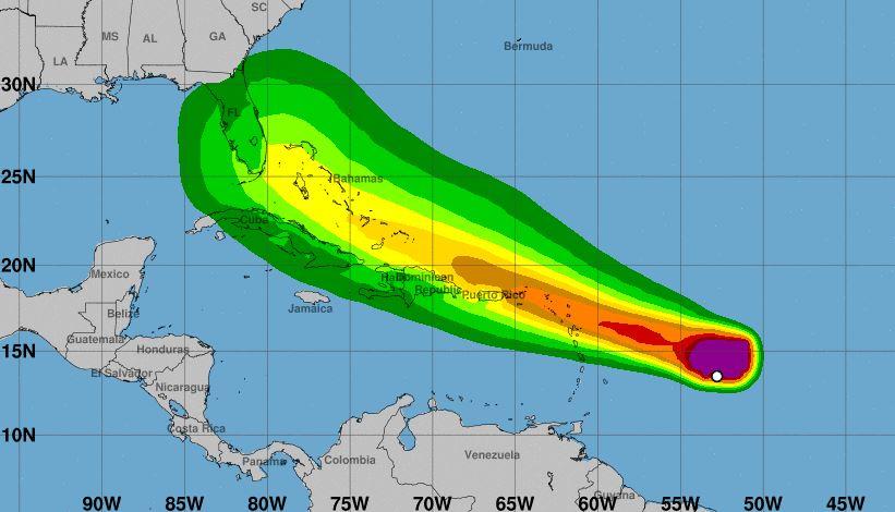 El país podría sentir este jueves efectos del potencial ciclón tropical número 9