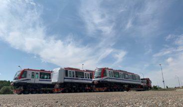 Mañana llegan seis vagones adicionales para el Metro