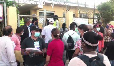 Ciudadanos acuden a las urnas desde tempranas horas en Higüey