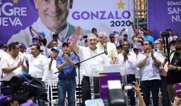 Cierre de campaña de Gonzalo será mediante producción audiovisual transmitida