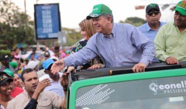 FP entregará más de 40 mil mascarillas en cierre de campaña de Leonel