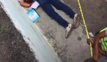 En medio de tiroteo termina votación donde hombre perdió la vida en Simón Bolívar