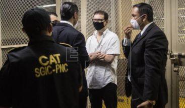 Hijos de Martinelli son enviados a prisión preventiva en cuartel de Guatemala