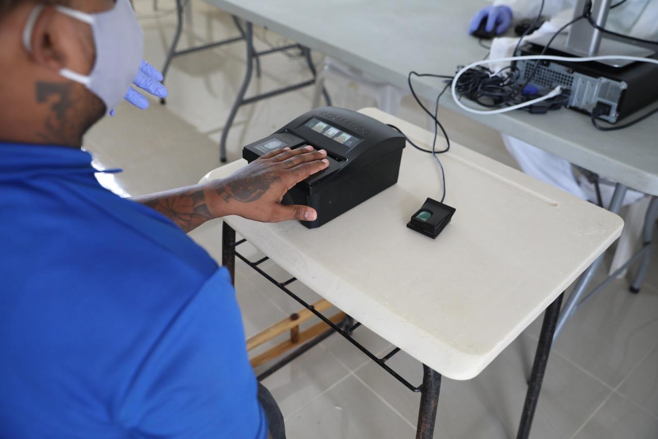 Inician captación de datos biométricos de internos que serán trasladados a la nueva Victoria
