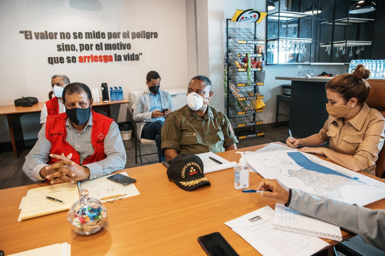 Alcaldesa Carolina Mejía activa comité de emergencia ante posible paso de tormenta