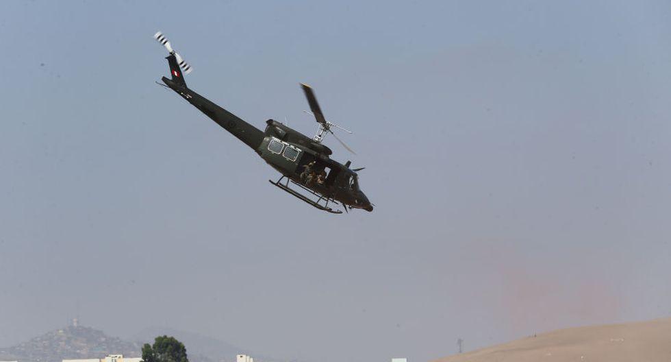Desaparece helicóptero peruano que llevaba ayuda cerca a frontera con Ecuador