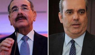 Danilo Medina se reúne con Luis Abinader en el Palacio Nacional