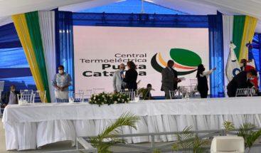 Hoy el presidente Medina inaugura Punta Catalina