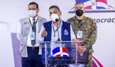 JCE informa ha recibido 19 relaciones de votación desde Madrid
