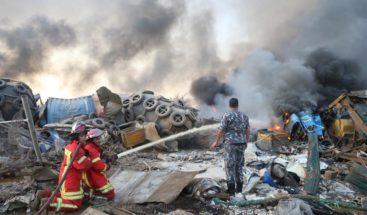 Explosión en puerto de Beirut durante el juicio sobre el asesinato del ex ministro Hariri