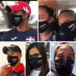 CRESO entrega mascarillas a los atletas de alto rendimiento