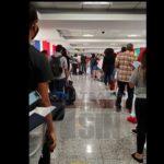 Reportan falta de distanciamiento físico en el Aeropuerto Internacional de Las Américas