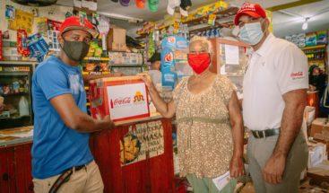 Sur Futuro y Fundación Coca-Cola integran a propietarios de colmados en programa de apoyo alimentario