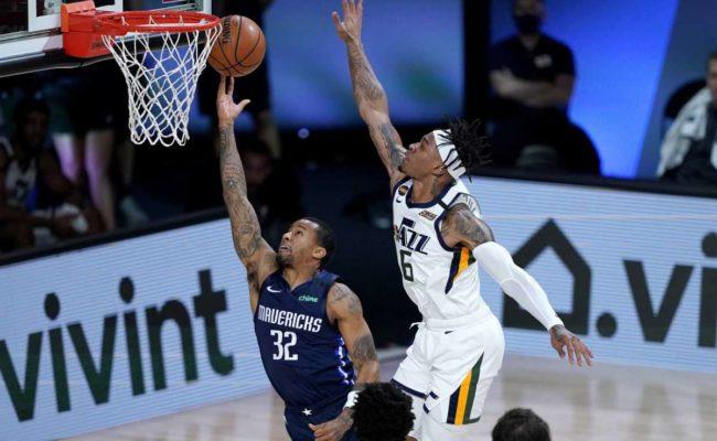 Dallas sin sus estrellas vencen a Utah Jazz y se acerca a la sexta posición del Oeste