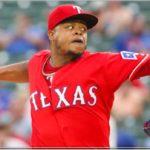 Edison Vólquez enviado a la lista de lesionados de los Vigilantes de Texas