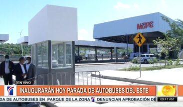 Terminal de Autobuses acordonada por la policía; manifestantes se oponen a inauguración