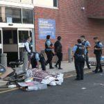 Saqueos y tiroteos con la Policía en Chicago
