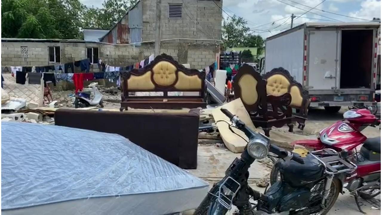 Decenas de casas destruidas tras inundaciones en Hato Mayor