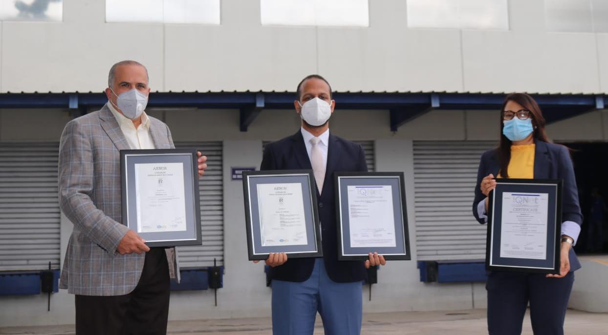 Victoria Yeb S.A recibe certificación en Gestión de Calidad ISO 9001:2015