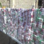 Incautan medio millón de unidades de cigarrillos en Dajabón