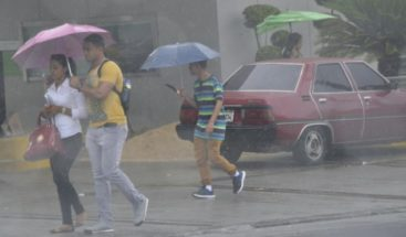 Vaguada ocasionará aguaceros dispersos, informa Onamet