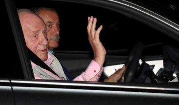 ¿Está en RD el rey Juan Carlos I?