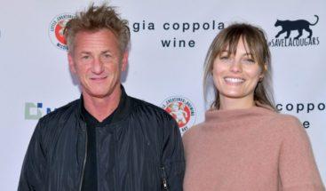 Sean Penn se casó en secreto con Leila George, su novia de 28 años, hija del actor Vincent D'Onofrio