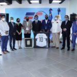 Liga Dominicana de Fútbol reconoce al ministro de Deportes