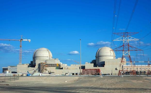 Ponen en marcha la primera planta nuclear de Emiratos